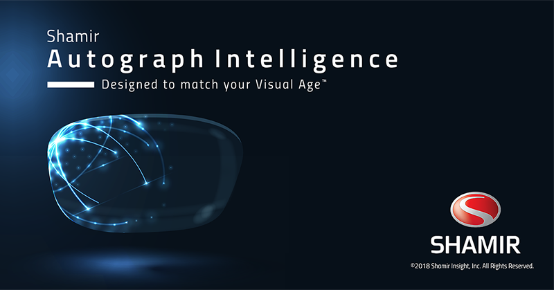 Shamir Autograph Intelligence, Designed to Match Your Visual Age