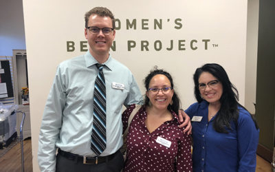 Eye Exams at the Women's Bean Project!
