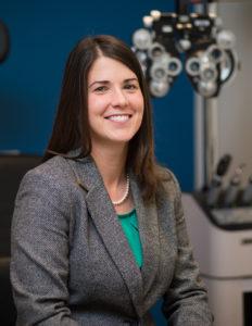 Dr. Melissa Vanray, O.D., optometrist at Vista Eye Care in Thornton, Colorado
