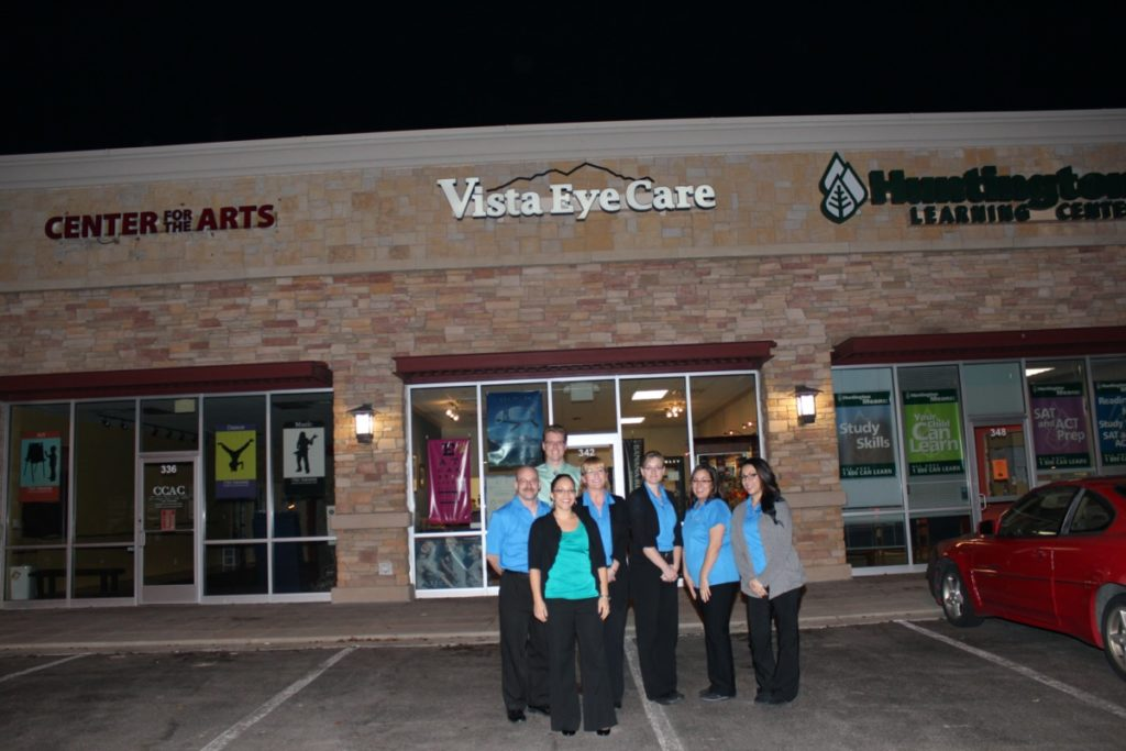 Group shot at our first location.