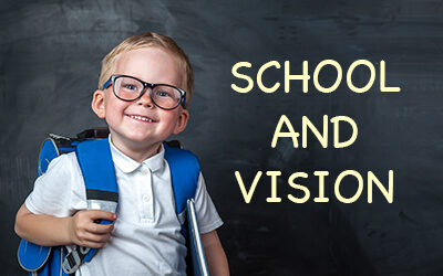 School and Vision: The Changing Visual Needs Of Kids