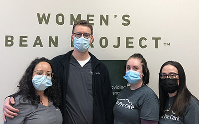 We are the Official Eye Care Providers of the Women's Bean Project!