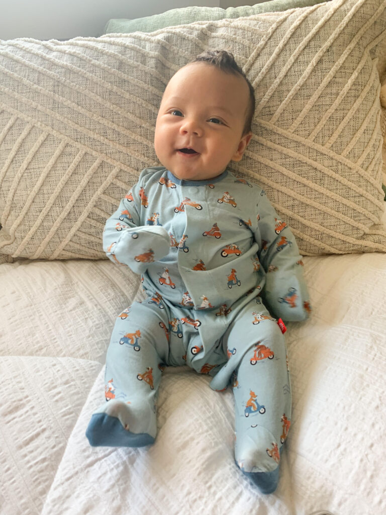 Newborn pictures of baby Sawyer Cole, Dr. Wong's new baby!