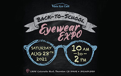 2021 Back-to-School Eyewear Expo!  Discounts on Eyewear for All Ages!
